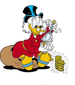 Dagobert Duck - ein Selfmade-Milliardär wird 60
