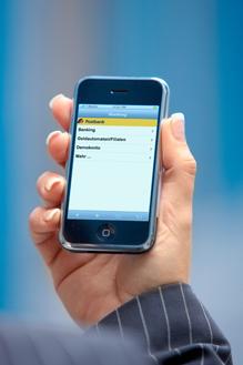 Apple iPhone - Online-Banking bei Postbank