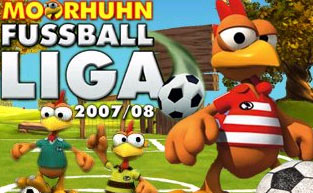 Die Moorhuhn Fussball-Liga - Onlinespiel