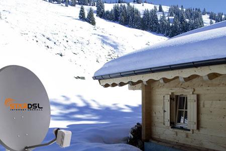 DSL - Internet ueber Satellit