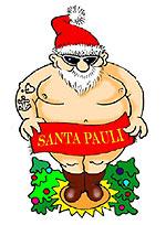 Santa Pauli Weihnachtsmann
