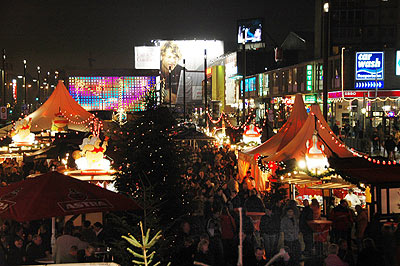 Santa Pauli Erotik Weihnachtsmarkt - Hamburg St. Pauli