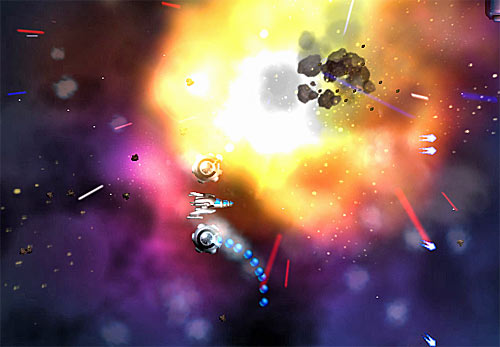 Absolute Blue - Retro 2D Action Shooter